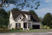 House Plan Design - European Exterior - Other Elevation Plan #17-3066
