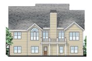 Craftsman Style House Plan - 4 Beds 3 Baths 2338 Sq/Ft Plan #927-3 Exterior - Rear Elevation