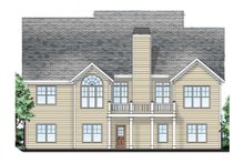 Craftsman Exterior - Rear Elevation Plan #927-3
