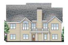 Craftsman Exterior - Rear Elevation Plan #927-3