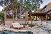 Farmhouse Style House Plan - 3 Beds 3.5 Baths 4261 Sq/Ft Plan #935-17 Exterior - Rear Elevation