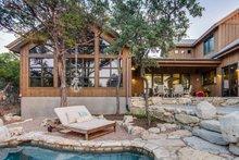 House Plan Design - Farmhouse Exterior - Rear Elevation Plan #935-17