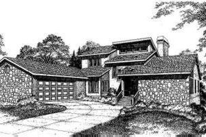 Exterior - Front Elevation Plan #322-101