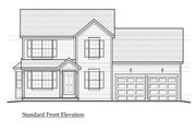Farmhouse Style House Plan - 3 Beds 2 Baths 1605 Sq/Ft Plan #459-5 Exterior - Other Elevation