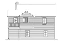 House Design - Country Exterior - Rear Elevation Plan #22-610