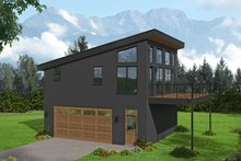 Contemporary Exterior - Front Elevation Plan #932-286