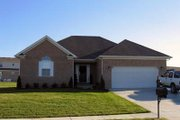 European Style House Plan - 3 Beds 2 Baths 1550 Sq/Ft Plan #412-116 Exterior - Front Elevation