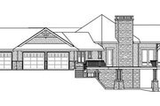 Craftsman Style House Plan - 4 Beds 3.5 Baths 5110 Sq/Ft Plan #124-848 Exterior - Other Elevation
