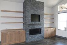Architectural House Design - Craftsman Interior - Family Room Plan #895-123
