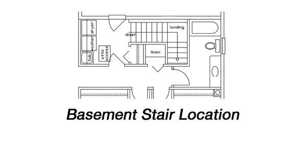 Ranch Floor Plan - Other Floor Plan Plan #427-6