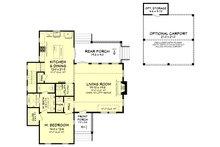 Farmhouse Floor Plan - Main Floor Plan Plan #430-180