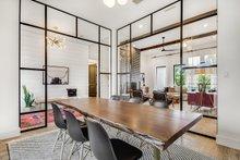 Architectural House Design - Farmhouse Interior - Dining Room Plan #430-156