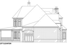 Architectural House Design - European Exterior - Other Elevation Plan #119-432
