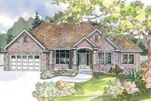 Modern Exterior - Front Elevation Plan #124-601