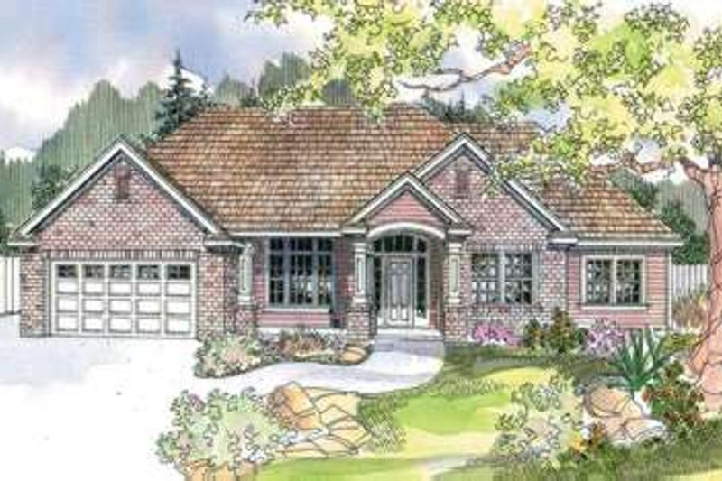 Home Plan - Modern Exterior - Front Elevation Plan #124-601