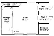 Farmhouse Style House Plan - 0 Beds 0 Baths 2962 Sq/Ft Plan #124-865 Floor Plan - Main Floor Plan