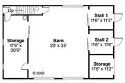 Farmhouse Style House Plan - 0 Beds 0 Baths 2962 Sq/Ft Plan #124-865 Floor Plan - Main Floor