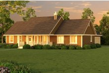 Home Plan Design - Ranch Exterior - Other Elevation Plan #18-4512
