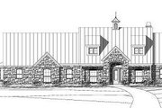 Traditional Style House Plan - 4 Beds 3 Baths 3975 Sq/Ft Plan #411-526 Exterior - Front Elevation