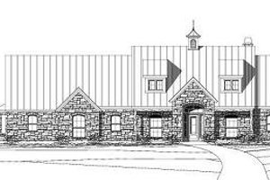 Traditional Exterior - Front Elevation Plan #411-526