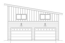 Dream House Plan - Contemporary Exterior - Front Elevation Plan #932-193