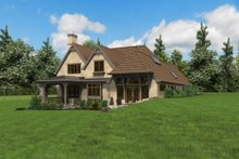 Dream House Plan - European Exterior - Rear Elevation Plan #48-625