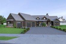 House Design - Craftsman Exterior - Front Elevation Plan #1070-68
