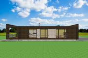 Modern Style House Plan - 2 Beds 2 Baths 1072 Sq/Ft Plan #549-19
