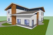 Modern Style House Plan - 4 Beds 3 Baths 2177 Sq/Ft Plan #518-9 Photo