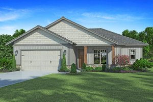 Craftsman Exterior - Front Elevation Plan #938-98