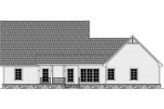 Country Style House Plan - 4 Beds 2.5 Baths 2258 Sq/Ft Plan #21-386 Exterior - Rear Elevation