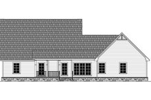 Country Exterior - Rear Elevation Plan #21-386