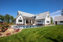 Farmhouse Exterior - Rear Elevation Plan #51-1132