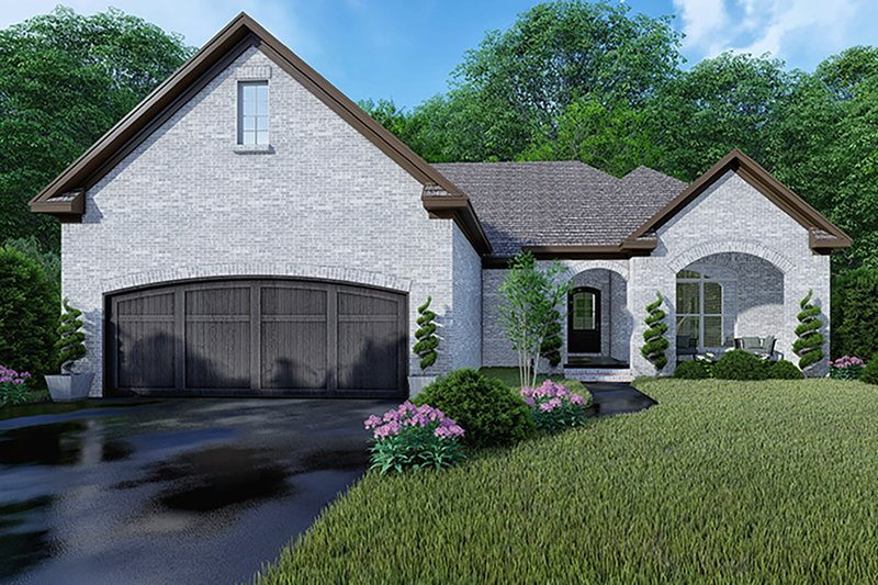 Architectural House Design - Traditional Exterior - Front Elevation Plan #923-147