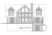 Craftsman Style House Plan - 3 Beds 2.5 Baths 2315 Sq/Ft Plan #117-692 Exterior - Rear Elevation