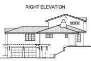 Mediterranean Style House Plan - 4 Beds 3.5 Baths 3845 Sq/Ft Plan #490-31 Exterior - Other Elevation