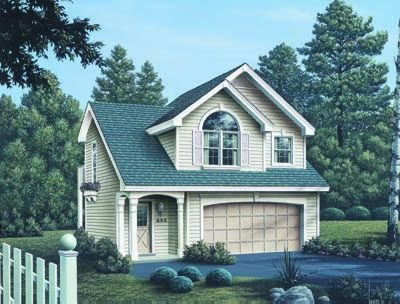 Traditional Exterior - Front Elevation Plan #57-165 - Houseplans.com