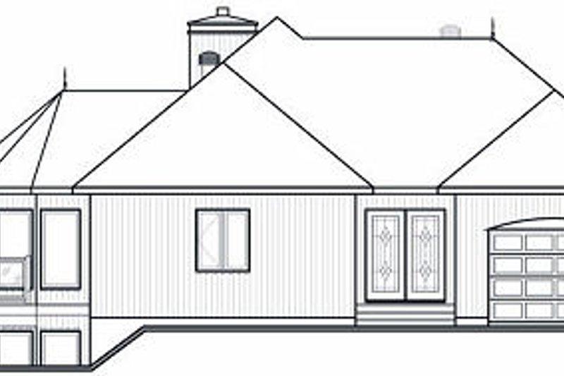 Contemporary Exterior - Rear Elevation Plan #23-873 - Houseplans.com