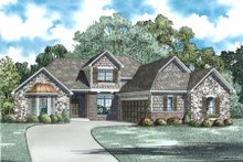 Dream House Plan - European Exterior - Other Elevation Plan #17-2495