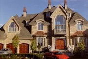 European Style House Plan - 4 Beds 2.5 Baths 6175 Sq/Ft Plan #138-221 Exterior - Front Elevation