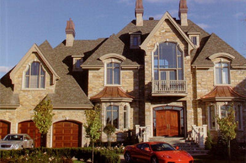 European Style House Plan - 4 Beds 2.5 Baths 6175 Sq/Ft Plan #138-221