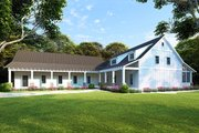 Farmhouse Style House Plan - 5 Beds 3 Baths 2860 Sq/Ft Plan #923-104 Exterior - Other Elevation