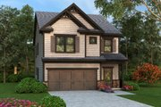Traditional Style House Plan - 4 Beds 2.5 Baths 2001 Sq/Ft Plan #419-277 Exterior - Front Elevation