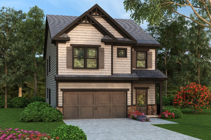 Traditional Style House Plan - 4 Beds 2.5 Baths 2001 Sq/Ft Plan #419-277