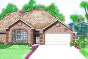 European Style House Plan - 3 Beds 2 Baths 1697 Sq/Ft Plan #52-103
