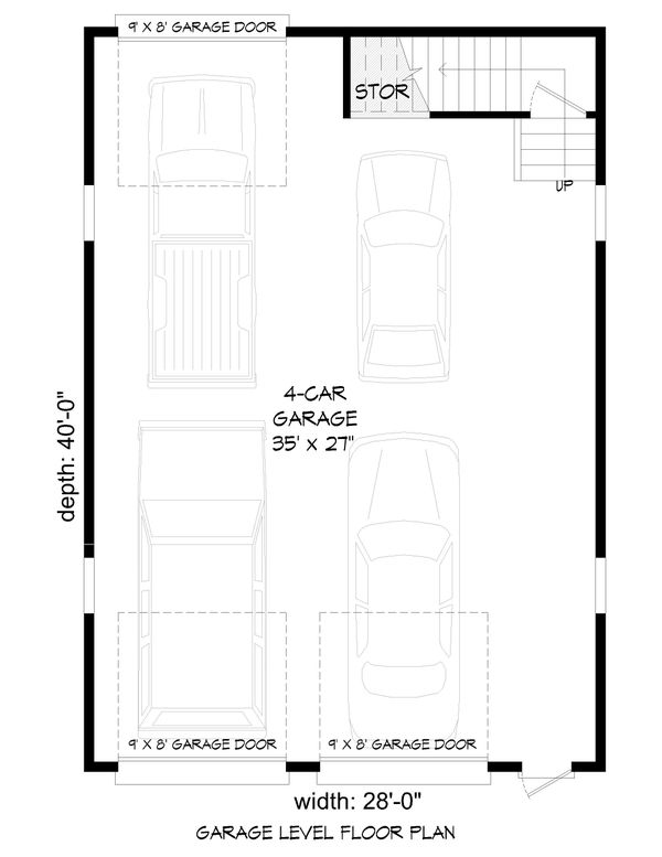 Dream House Plan - Farmhouse Floor Plan - Main Floor Plan #932-322