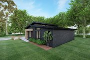 Contemporary Style House Plan - 3 Beds 2 Baths 1131 Sq/Ft Plan #923-166 Exterior - Front Elevation