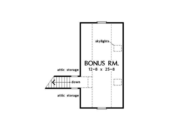 Country Floor Plan - Other Floor Plan Plan #929-15