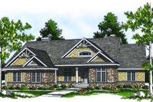 House Design - Country Exterior - Front Elevation Plan #70-788