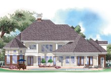 Mediterranean Exterior - Front Elevation Plan #930-257